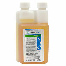 Demon Max Cypermethrin Insecticide By Syngenta 1 PT Kills Roaches Fleas Termites