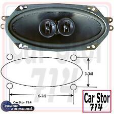"Custom Autosound 3001 DVC 2-Way- 4x10"" Replacement Dash Speaker-Universal Fit"