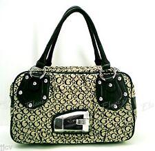 GUESS Valerie Purse BLACK SI256017 Handbag Tote Bag Satchel Logo Sac NWT $110
