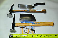 Martin 644K 4 Piece Body and Fender Repair Tool Set with Hickory Handles USA