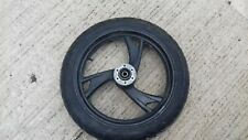 YAMAHA TDM850 TDM 850 3VD 1991  FRONT  WHEEL AND TYRE. TYRE TICK 3-4mm