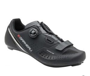 NWT! Louis Garneau Platinum II Road Cycling Shoes Black Sz 48 US 12.5