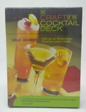 Craft of the Cocktail Deck: Artful Tips &  Recipe Cards Dale Degroff Bartender