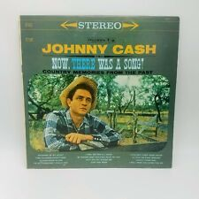 JOHNNY CASH ~ NOW, THERE WAS A SONG! ~ Country LP 1960 First Press