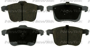 Disc Brake Pad Set-Galaxy Ceramic Disc Pads Front NewTek fits 06-11 Saab 9-3