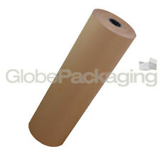 450mm x 50M HEAVY DUTY STRONG BROWN KRAFT WRAPPING PAPER ROLL 88gsm - 50 METRES