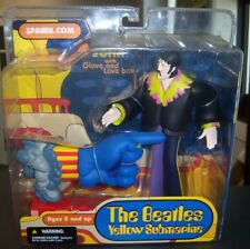 The Beatles Yellow Submarine John with Glove and Love Base McFarlane Toys - New