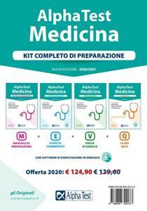 alpha test: preparazione per ammissione medicina (kit completo) ed: 2020/2021