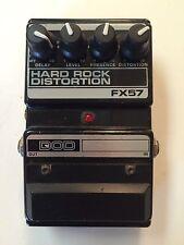 DOD Digitech FX57 Hard Rock Distortion Analog Delay Rare Vintage Guitar Pedal