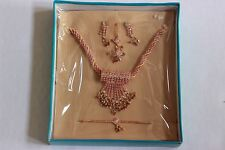 Indian Jewelry- Necklace, Earings, Ring, Bracelet, Tikka ~US SHIPPING