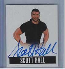 SCOTT HALL 2014 LEAF ORIGINALS WRESTLING ON CARD AUTO