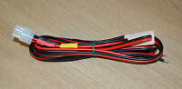 Yaesu/Kenwood/Icom/Alinco 6-pin power lead with fuses and marker (LD120)