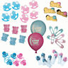 Baby Shower Table Decorations / Favours - PINK or BLUE - Choose Items