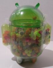 "NEW Google I/O 2012 Android Jellybean Jelly Belly jar, 6.5"" green unopened"