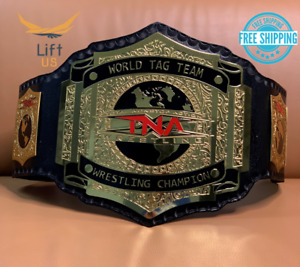 TNA World Tag Team Wrestling championship Heavyweight Replica Belt Brass 2MM NEW