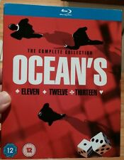 Ocean's Trilogy Collection-All 3 Movies incl(Blu-ray Disc,2010,3-Disc Set)NEW
