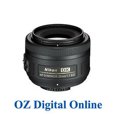New Nikon NIKKOR AF-S 35mm f/1.8G F1.8 G DX 1 Yr Au Wty