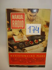 MANUAL RADIO. ENERO 1954 RESISTENCIAS FIJAS