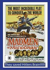 Madmen Of Mandoras (DVD, 2011)