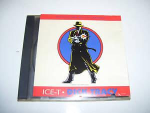 ICE-T - DICK TRACY 4tr. CD MAXI USA 1990