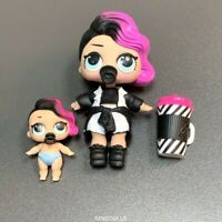 """Lil and big doll LOL SURPRISE Rocker Series 1 3"""" toy baby girl toys gift set"""