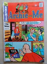Archie and Me #68 September 1974 Bagged & Boarded Archie Series
