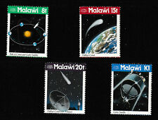 MALAWI 1986 SET,  APPEARANCE OF HALLEY'S COMET.   M.N.H.