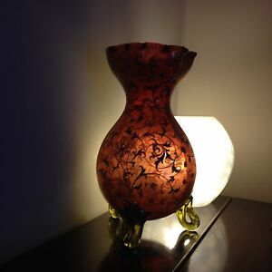 Rare Antique Moser  Glass Vase