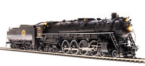 Steam locomotive- Paragon3 Sound DC DCC Smoke - Brass HO - Broadway Limited 4925
