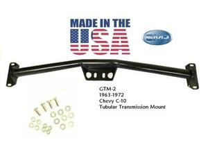 New Truck Tubular Transmission Crossmember For 63-72 Chevy C10 USA MADE