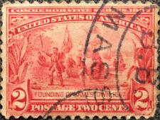 Scott #329 US 1907 2 Cents Jameston Exposition Postage Stamp