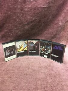 Black Sabbath Cassette Lot Of 5 Self Titled Master Of Reality Live Evil Heaven