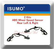 2 ABS Wheel Speed Sensor Rear Right & Left Fit ES330 Toyota Avalon Camry Solara