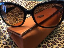 ac8740c1ecd0 Tory Burch Women's 0TY7059 Sunglasses Black 57mmGradient Excellent Preowned  $249
