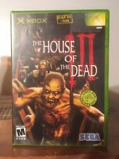 The House of The Dead III XBOX! Complete! Plays Great!  Light Gun NOT INCLUDED