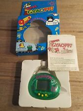 Super Gyaoppi Electronic Handheld Virtual Pet Green New Giga Tamagotchi