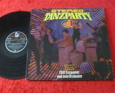 Cliff Carpenter und sein Orchester LP Stereo-Tanzparty Nr. 1