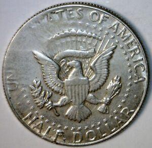 1964 ERROR SILVER Struck Through ? KENNEDY HALF Dollar Unique ? Coin  NR