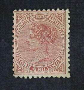 CKStamps: New Zealand Stamps Collection Scott#67 Mint H OG Thin