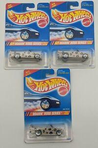 SEALED Mini Truck Lot of 3 Hot Wheels Roarin' Rods Diecast Cars 1/64