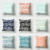 Case Throw Cushion Waist Sofa Home Polyester Decor 18'' Cover Pillow