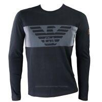 Emporio Armani EA7 T-shirt uomo manica lunga 6gpt59 colore nero