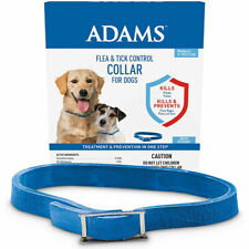 Adams Flea Tick Collar for Dogs Puppies 7 Months Protection One Size Fits All