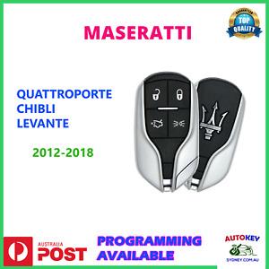 MASERATI REMOTE KEY FOR GHIBLI QUATTROPORTE LEVANTE 2012 2013 2014 2015 2016