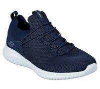 Bungee Skechers Navy Shoes Men's Memory Foam Soft Mesh Sport Flex Slip On 52527
