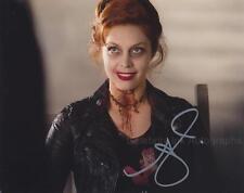 ALAINA HUFFMAN as Abaddon - Supernatural GENUINE AUTOGRAPH UACC (R16278)