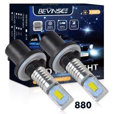2x 880 885 LED Fog Light Bulb For Chevrolet Corvette 1987-1990 Malibu 1997-2005
