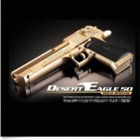 ACADEMY Special Airsoft Pistol BB Gun 6mm Hand Grips Desert Eagle 50 Gold Toy