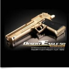 ACADEMY Special Airsoft Pistol BB Gun 6mm Hand Grips Desert Eagle 50 Gold Toy