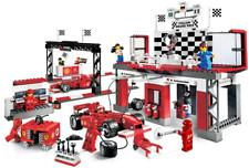Lego Racers Ferrari Finish Line Conjunto de 8672 - 100% completo y las instrucciones
